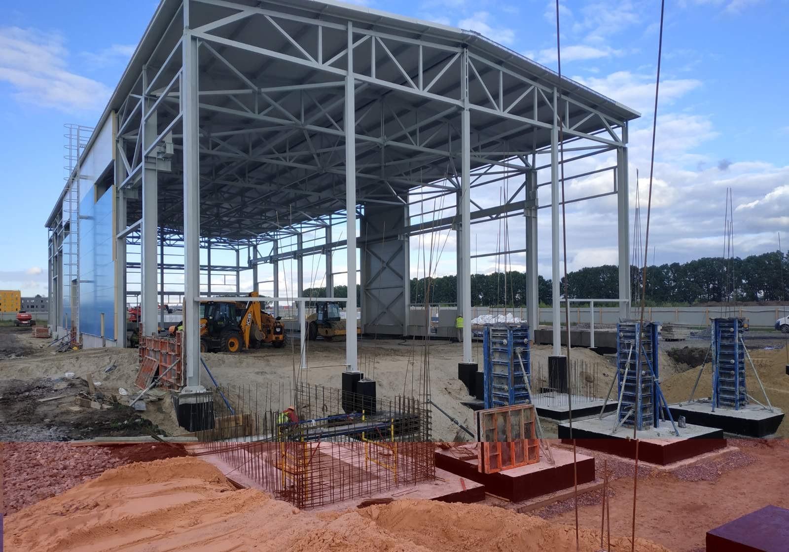 Строительство фундаментов для быстровозводимых зданий TTRADE
